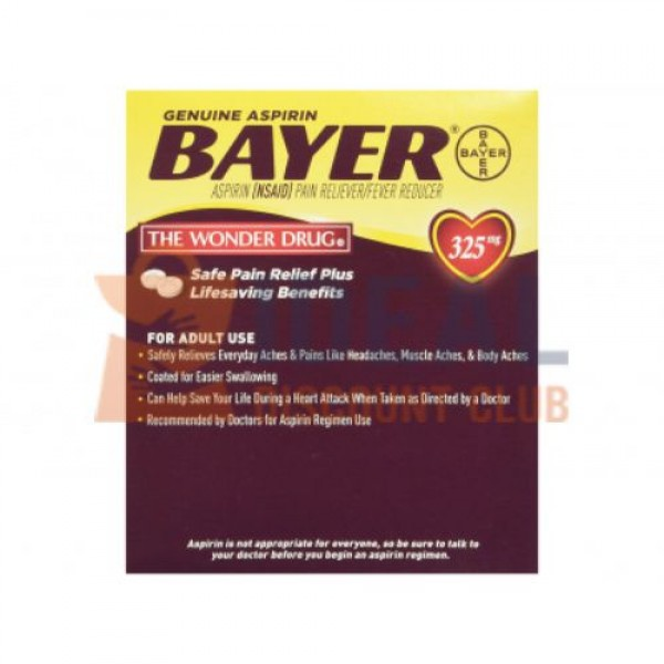 50 X 2'S BAYER POUCH