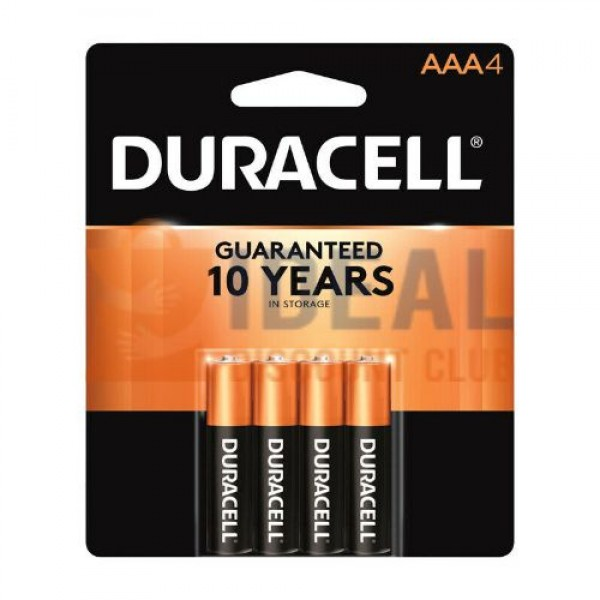 AAA-4 USA DURACELL (TYPE1- 54 PACKS/CASE)