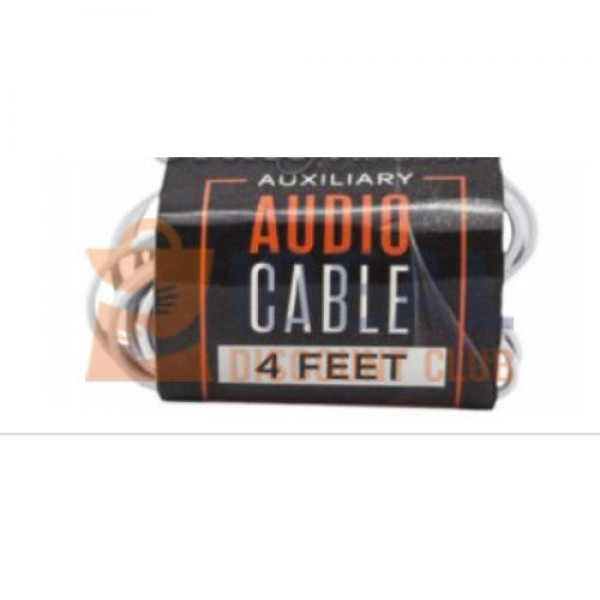 WTW AUXILIARY WIRE *BLACK & WHITE* 3.5 MM