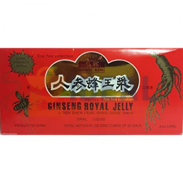 GINSENG RED 30'S (ROYAL JELLY)