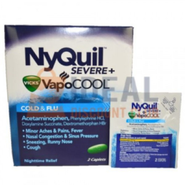 25 X 2'S NYQUIL POUCH