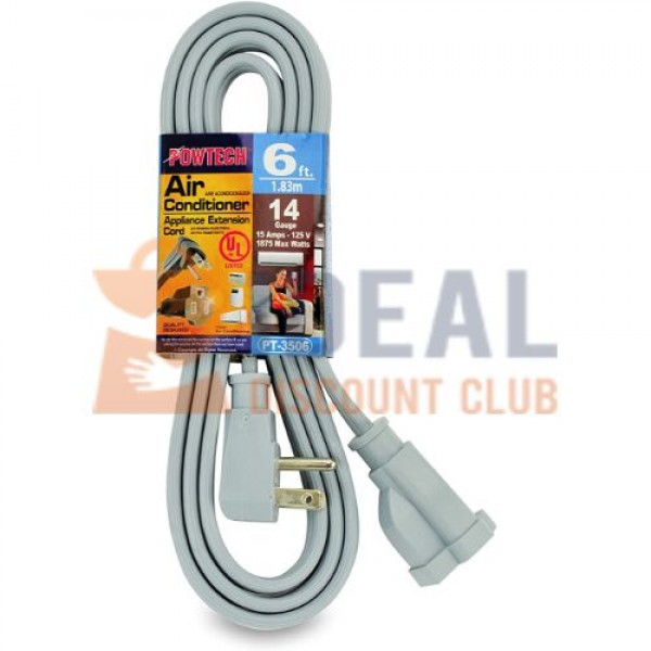 AIR COND CORD 6FT #PT3506