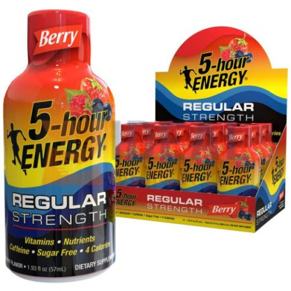 5 HOUR ENERGY **BERRY** 12CT/BX