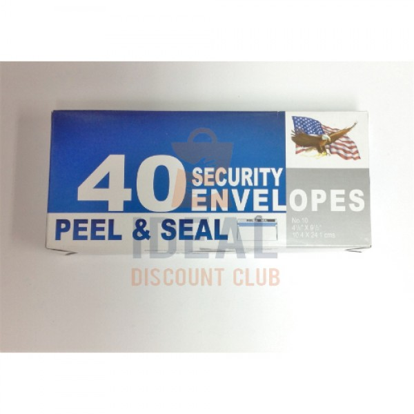 ENV 40C SECURTY P&S #10