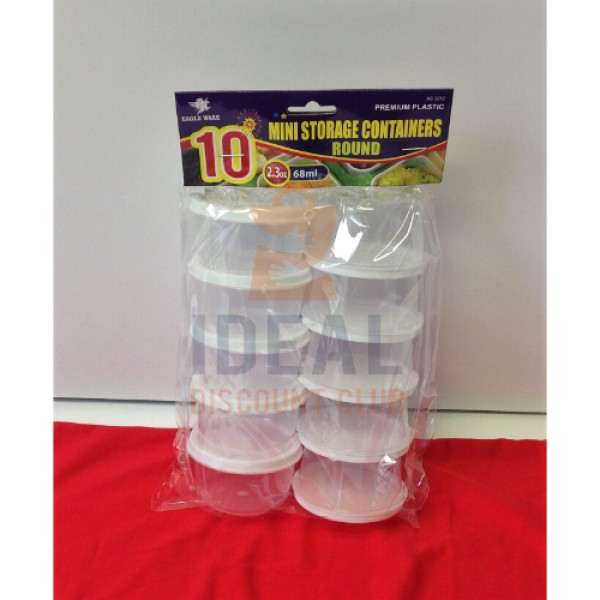 HOME & KITCHEN Container 10pk